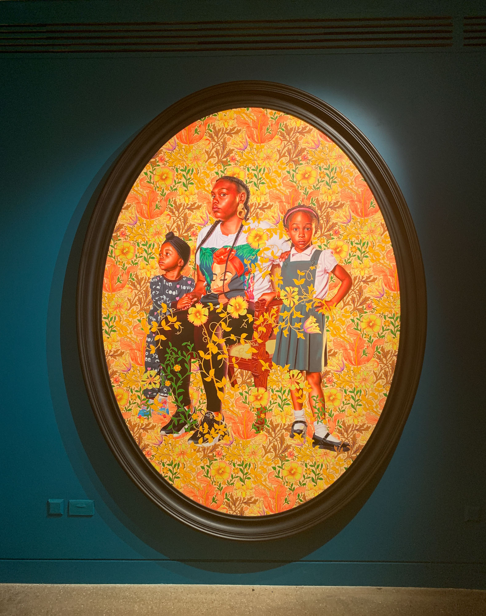 Kehinde Wiley at the William Morris Gallery thumbnail